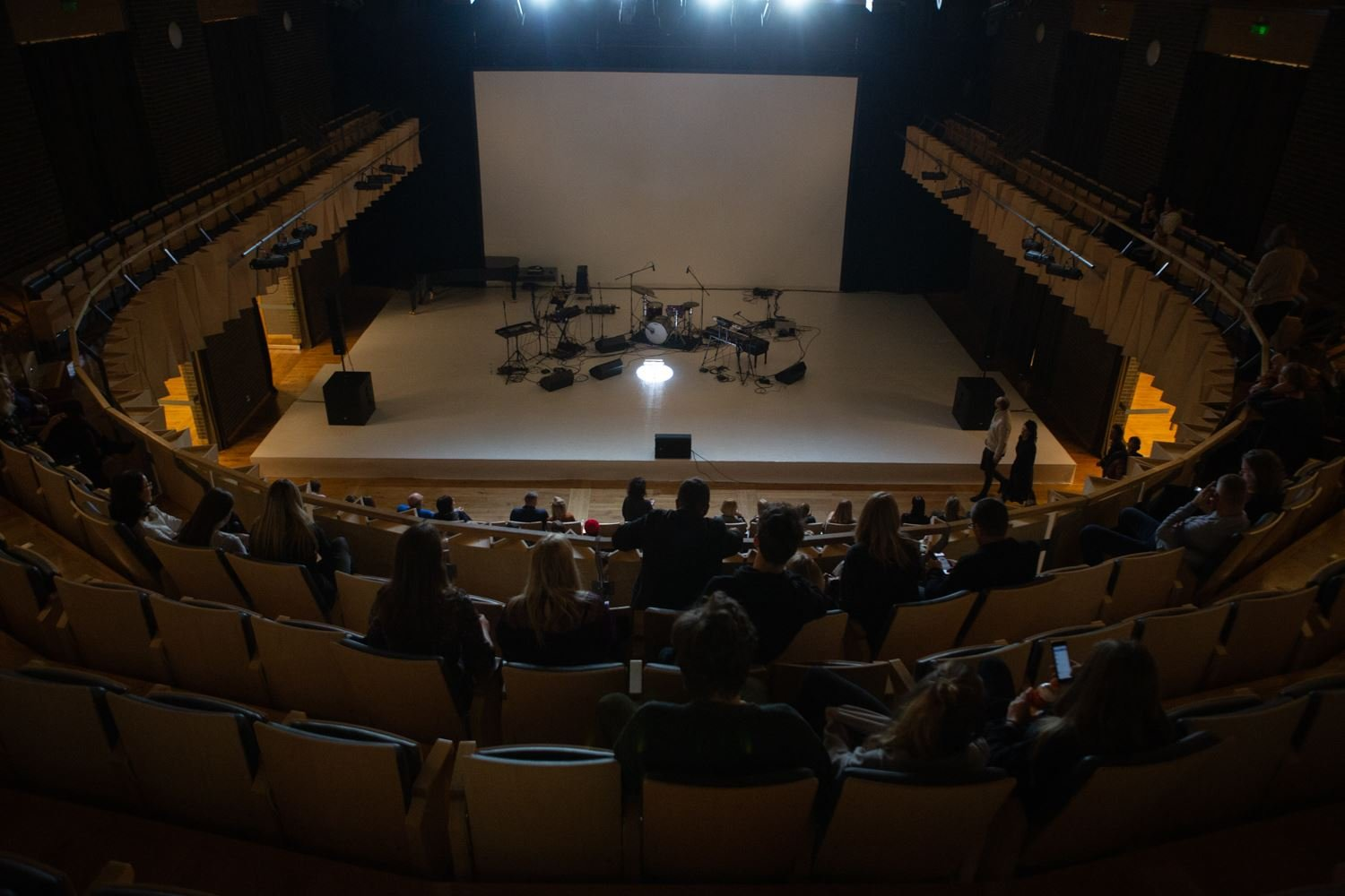 Cēsis Concert Hall for White Wall Sessions
